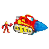 Taladro Marvel Super Hero Repulsor Con Iron Man (los Colores