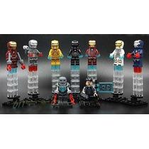 Set Iron Man Decool, 9 Figuras Para Armar Vengadores