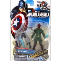 Red Skull Capitan America Primer Vengador Marvel Universe