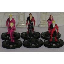 Heroclix Lote De 6 Figuras De Giant-size X-men