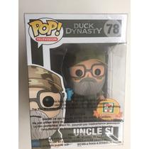 Funko Pop Uncle Si Gorra Verde Exclusivo Duck Dynasty