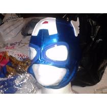 Mascara De Capitan America P/niño. Marvel.