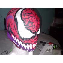 Mascara De Carnage Villano De Spiderman P/niño Hombre Araña