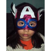 Mascara De Capitan America P/niña Marvel Avengers Vengadore