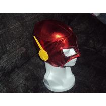 Mascara De Flash Dc Comics P/niño Liga De La Justucia Injust