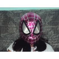 Mascara De Spiderman P/niña Marvel Avengers Vengadora