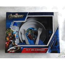 Set De Comida Avengers