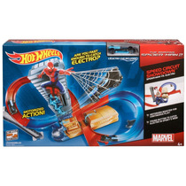 Muñecos Playset Hot Wheels Marvel The Amazing Spider-man 2