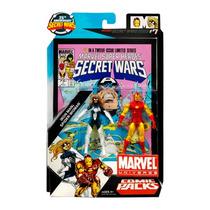 Marvel Universe Secret Wars Iron Man & Spider-woman