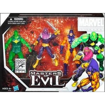 Marvel Universe Team Pack Masters Of Evil Sdcc 2011