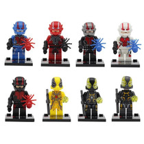 Set De Ant Man 8 Hombre Hormiga Compatibles Con Lego