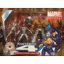 Marvel Universe 4 Pack, 4 Fantasticos Variante Traje Blanco