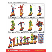 Marvel Avengers Resina (coleccion Completa)