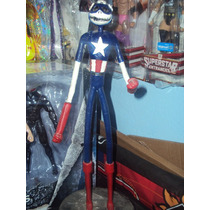 Figura De Resina Jack Squeleton Capitan America Jack Avenger