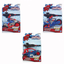 Marvel Ultimate Spiderman Colección Hasbro Blast N Go