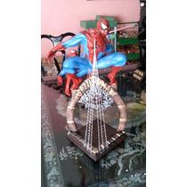 Spider-man Hombre Araña De Resina