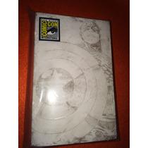 Marvel Universe Capitan America Sdcc 2009 Blanco Y Negro