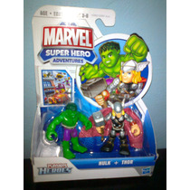 Thor Y Hulk Super Hero Squad Marvel