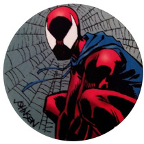 Tazo De Coleccion Sm 98 Scarlet Spiderman Marvel 95 S4 5