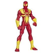 Figura Marvel Ultimate Spider-man Warriors Web Araña Del Hie
