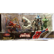 Ultimate Spiderman Playset Figuras De Disney Store En Oferta