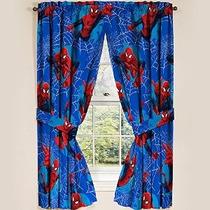 Marvel Ultimate Spiderman Spider-man Paneles Cortinas Cortin