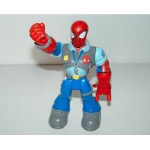 Figura Spider-man Hombre Araña Policia