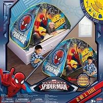 Marvel Ultimate Spider-man Web Slinger 2 En 1 Jugar Carpa