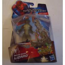 Lagarto Amazing Spiderman Invisi-skin Lizard Articulado