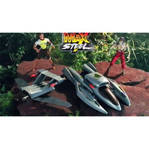 Max Steel Aqua Assault Lancha-jet-avion Figura Vehiculo