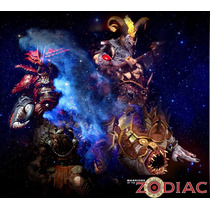 Oferta Warrior Of The Zodiac Spawn Mcfarlane Aries Geminis