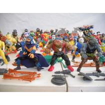 Lote Tortugas Ninja C/accesorios En Excelentes Condiciones!
