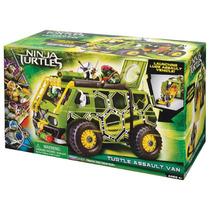 Tortugas Ninja Vehiculo Van Asalto Nuevo En Su Empaque 2014