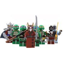 Set A3 De Las Tortugas Set De 8 Compatibles Con Lego
