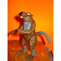 Muñeco Rata Splinter Vintage Turtles Figura Figura Caicatura