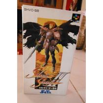 Super Famicom Snes Silva Saga Ii 2 (ntsc-j) Videojuego Rpg