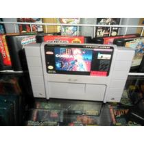 Street Combat Super Nintendo Snes Cartucho Super Nes