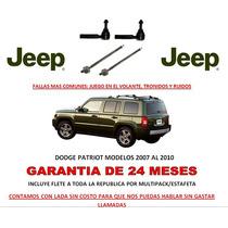 Bieletas P/caja Cremallera Direccion Hidraulica Jeep Patriot