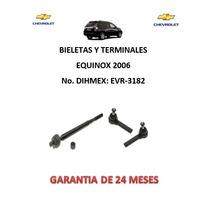 Bieletas Y Terminales Direccion Hidraulica Equinox 2006