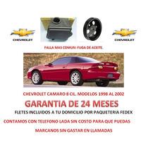 Deposito Y Polea P/ Licuadora,bomba Chevrolet Camaro Omm