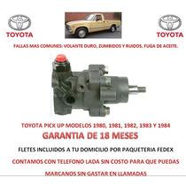 Bomba Licuadora Direccion Hidraulica P/ Caja Toyota Pick Up
