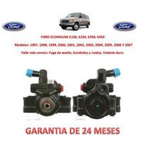 Bomba Licuadora Dirección Hidráulica Caja Ford Econoline2000