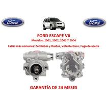 Bomba Licuadora Direccion Hidraulica Ford Escape V6 2003
