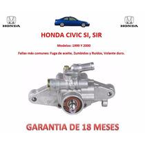 Bomba Licuadora Direccion Hidraulica Honda Civic Si,sir 2000