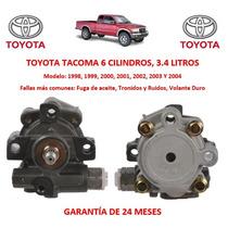 Bomba Licuadora Direccion Hidraulica Toyota Tacoma 6cyl 1999