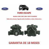Bomba Licuadora Direccion Hidraulica Ford Escape V6 2007