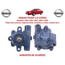 Bomba Licuadora Direccion Hidraulica Nissan Tsuru 1994