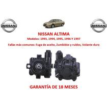 Bomba Licuadora Direccion Hidraulica Nissan Altima 1993