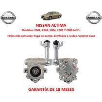 Bomba Licuadora Direccion Hidraulica Nissan Altima 6cyl 2003