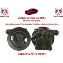 Bomba Licuadora Direccion Hidraulica Dodge Verna 1.6lts 2004